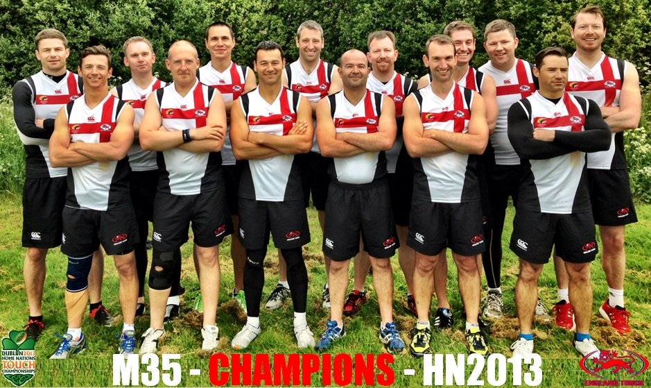 England Mens 35s - Home Nations Champions