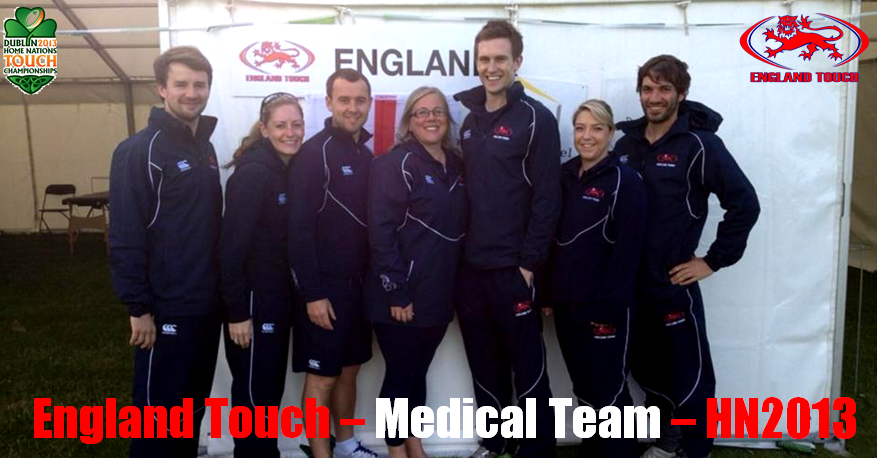 England's Medical Team