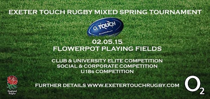 Exeter Spring Mixed Touch Tournament