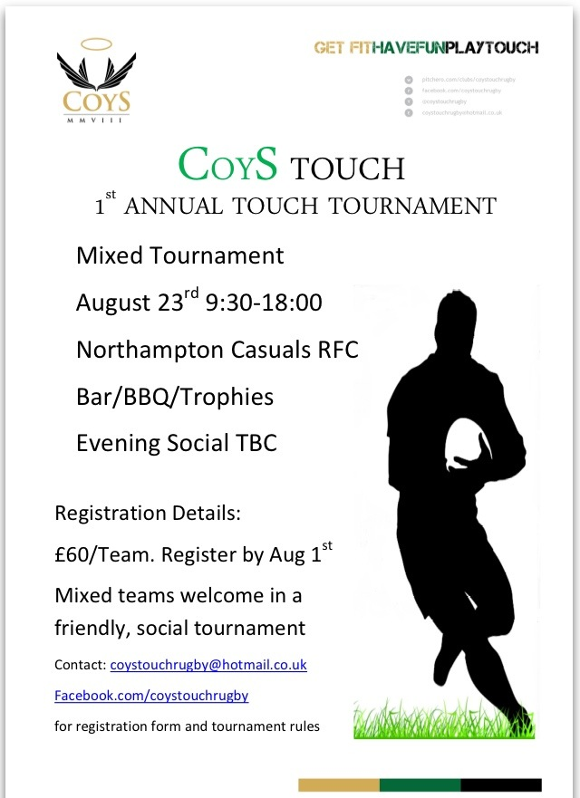 COYS Touch Tournament