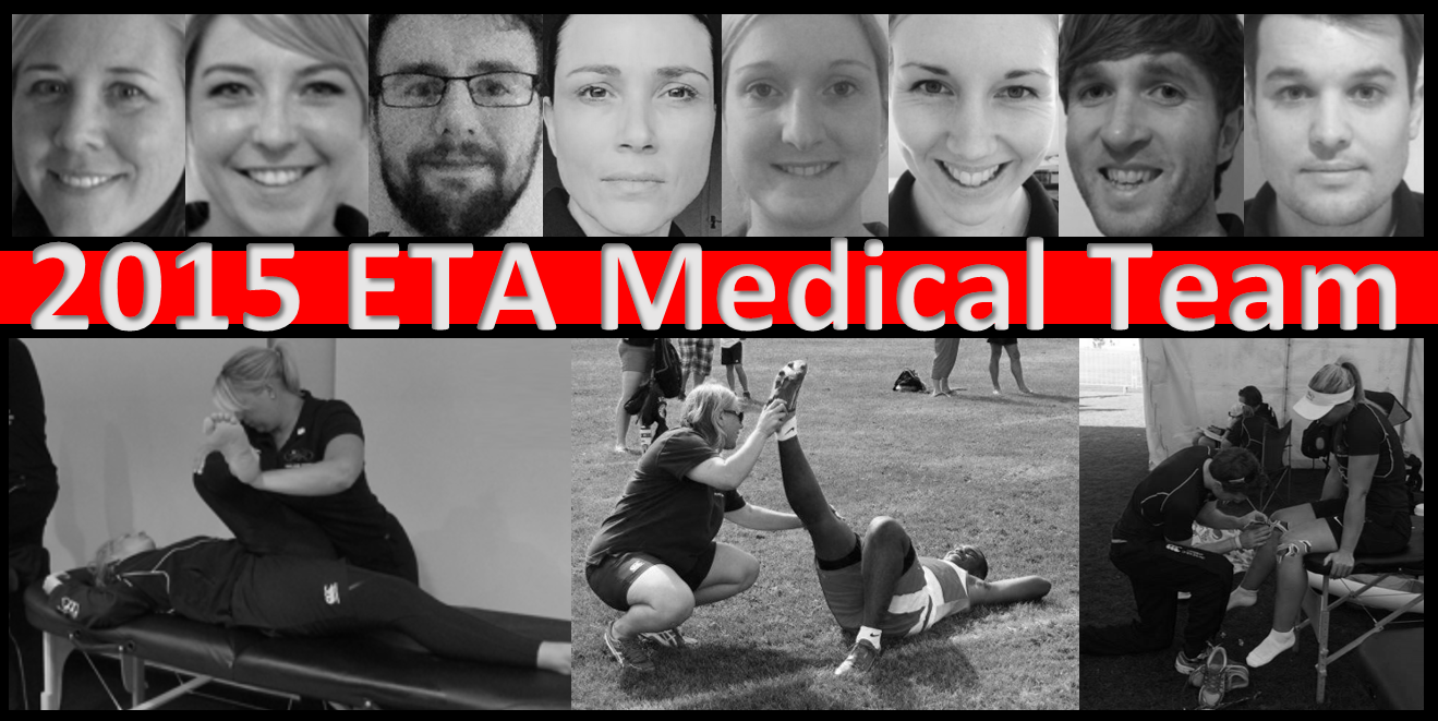 Medical Team for 2015 Season