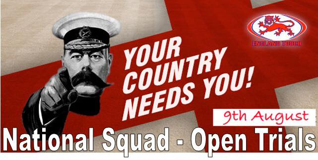 Open Trial Information for 2016 England Squads