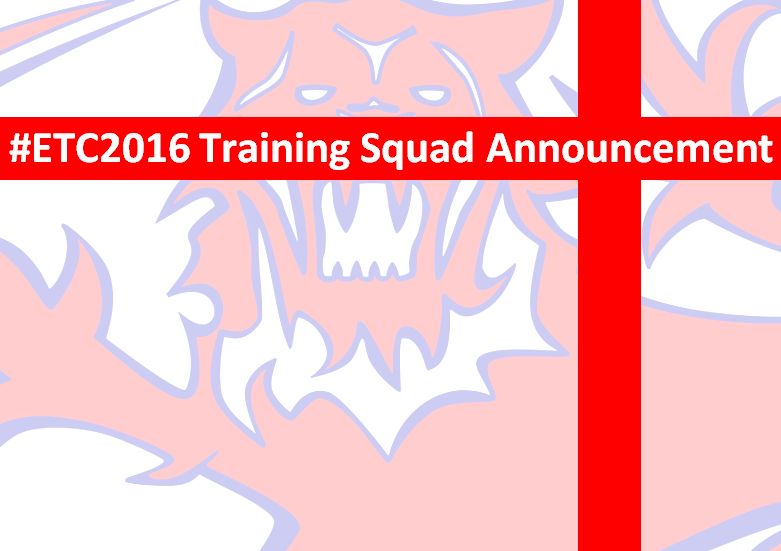 2016 European Championships – Training Squads Announced