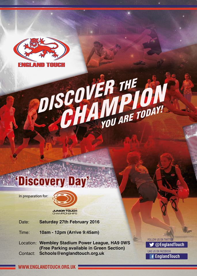 FREE Junior Discovery Day @ Wembley Stadium