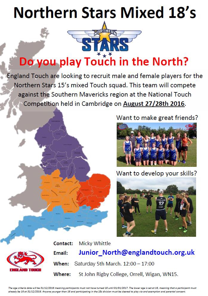 Northern Stars – Junior Mixed 18s