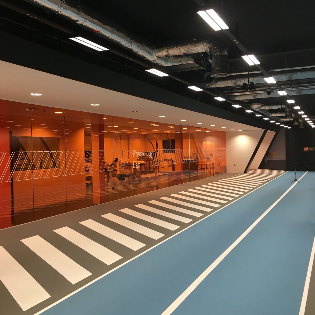 High Performance Team Visit GSK Human Performance Lab