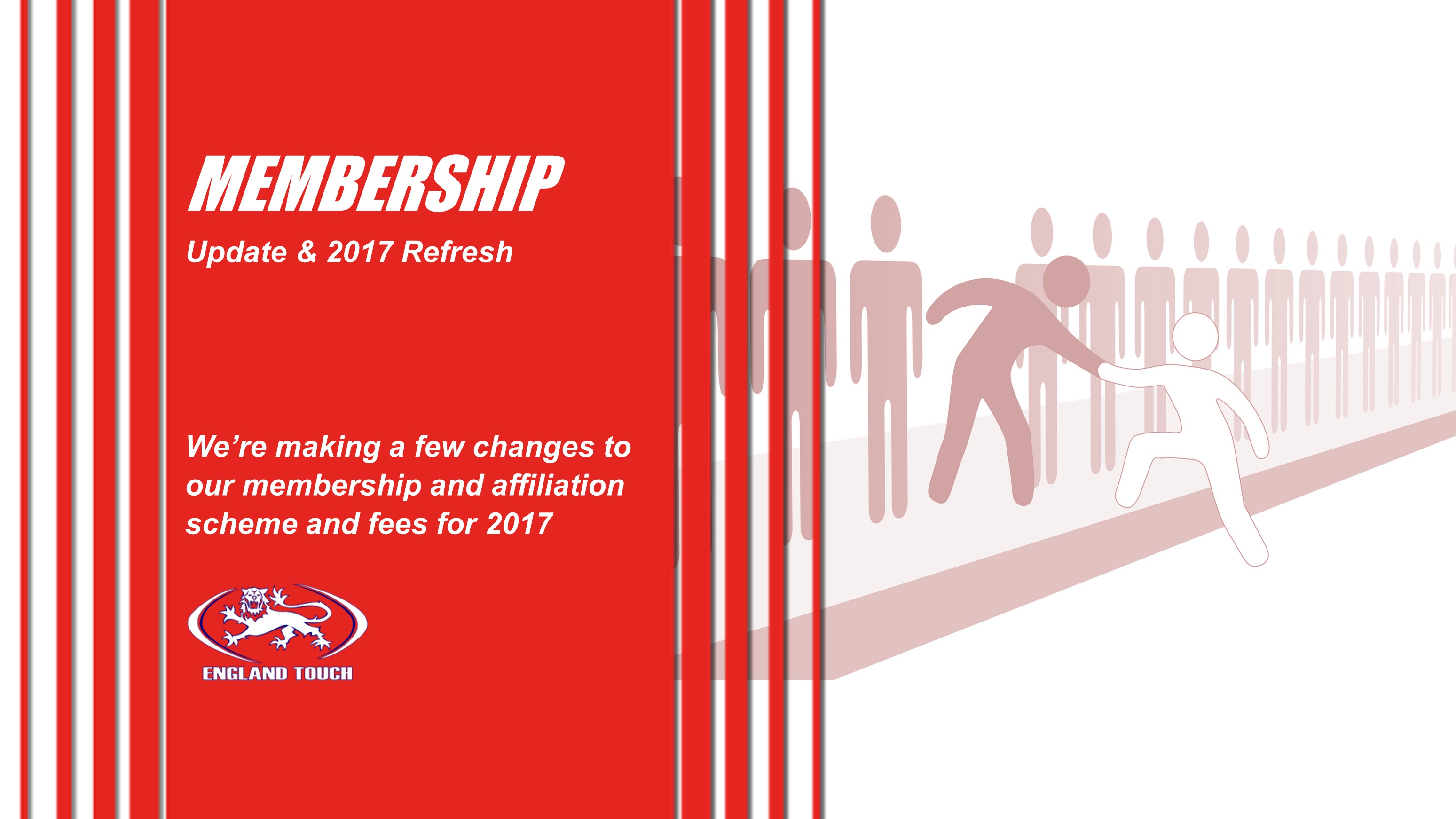Membership Update | 2017 Refresh