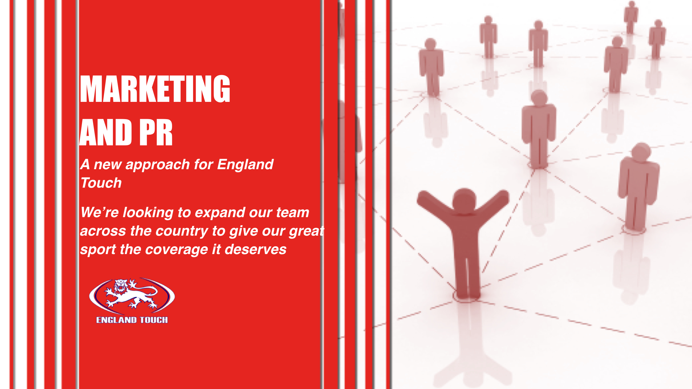 England Touch reshaping marketing and PR in 2017