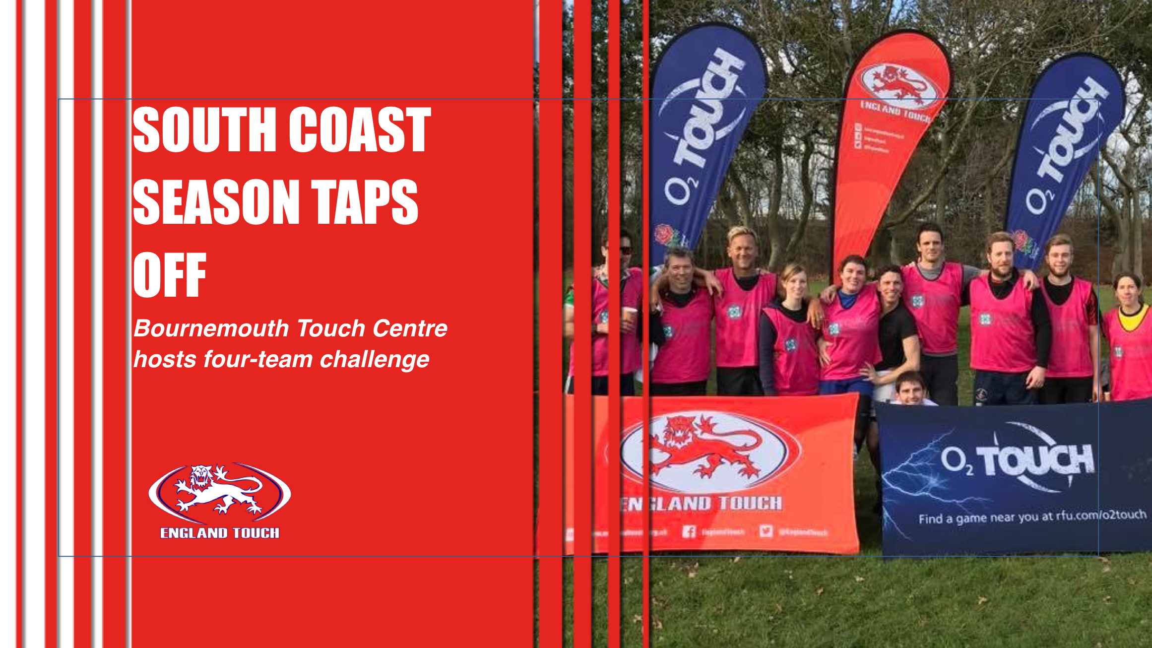 """Challenge on"" at Bournemouth Touch Centre"