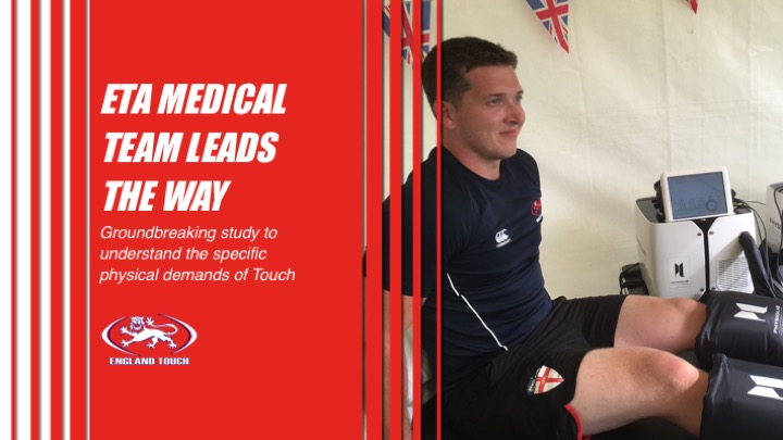 England Touch Association leading the way with injury research