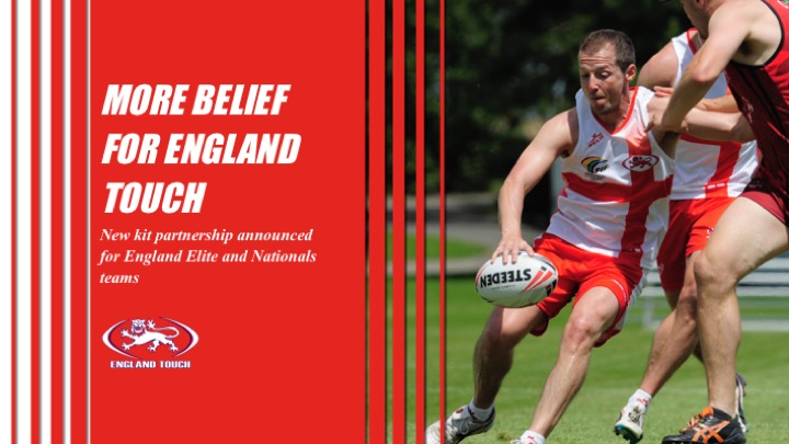 England Touch entrenches relationship with Belief