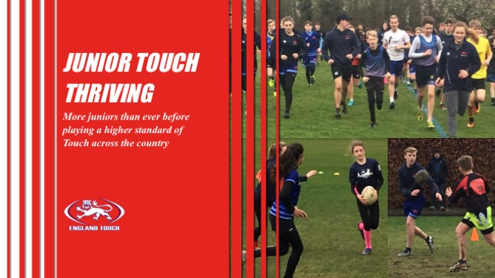 Touch going from strength-to-strength at junior levels