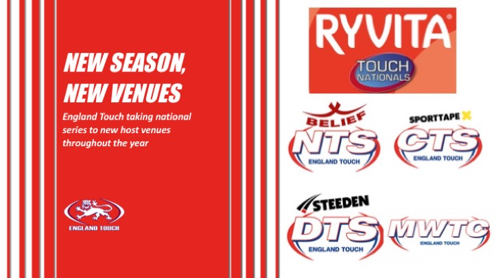 New host venues for national Touch series
