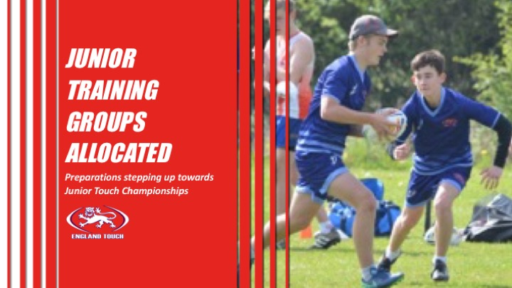 Junior players allocated into training squads
