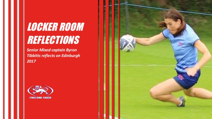 Locker room reflections | Byron Tibbitts, England Senior Mixed Captain