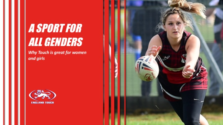 Touch – setting a benchmark in women's sport