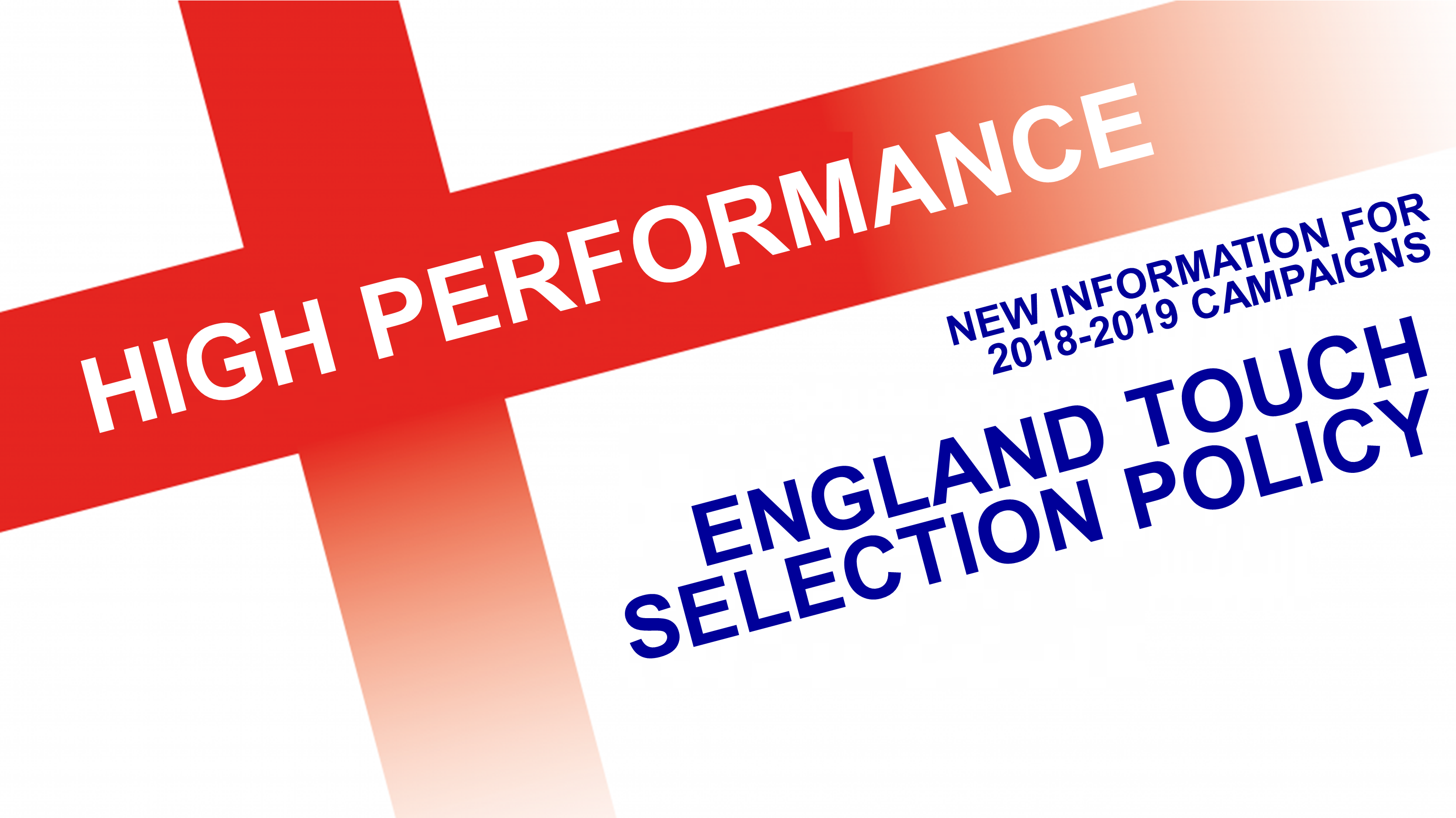 High Performance Selection Policy