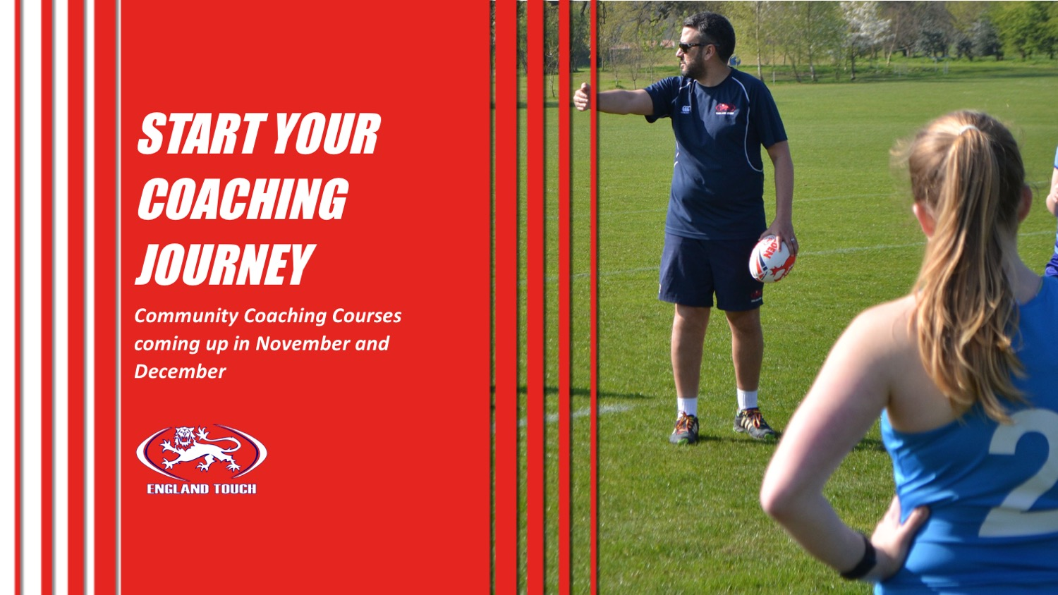 Community Coaching Courses coming up in November and December