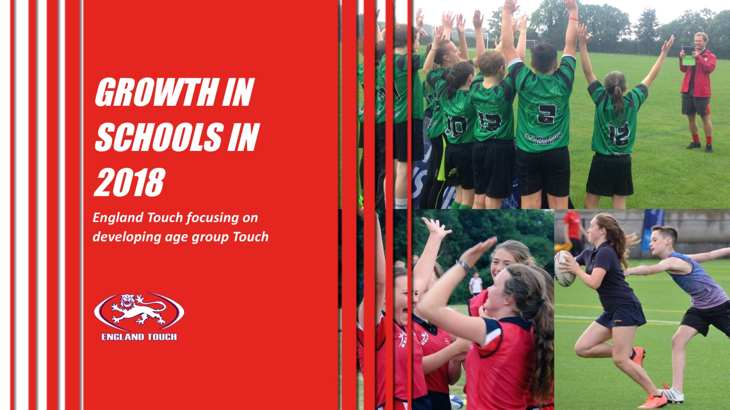 England Touch committed to developing Touch in schools in 2018