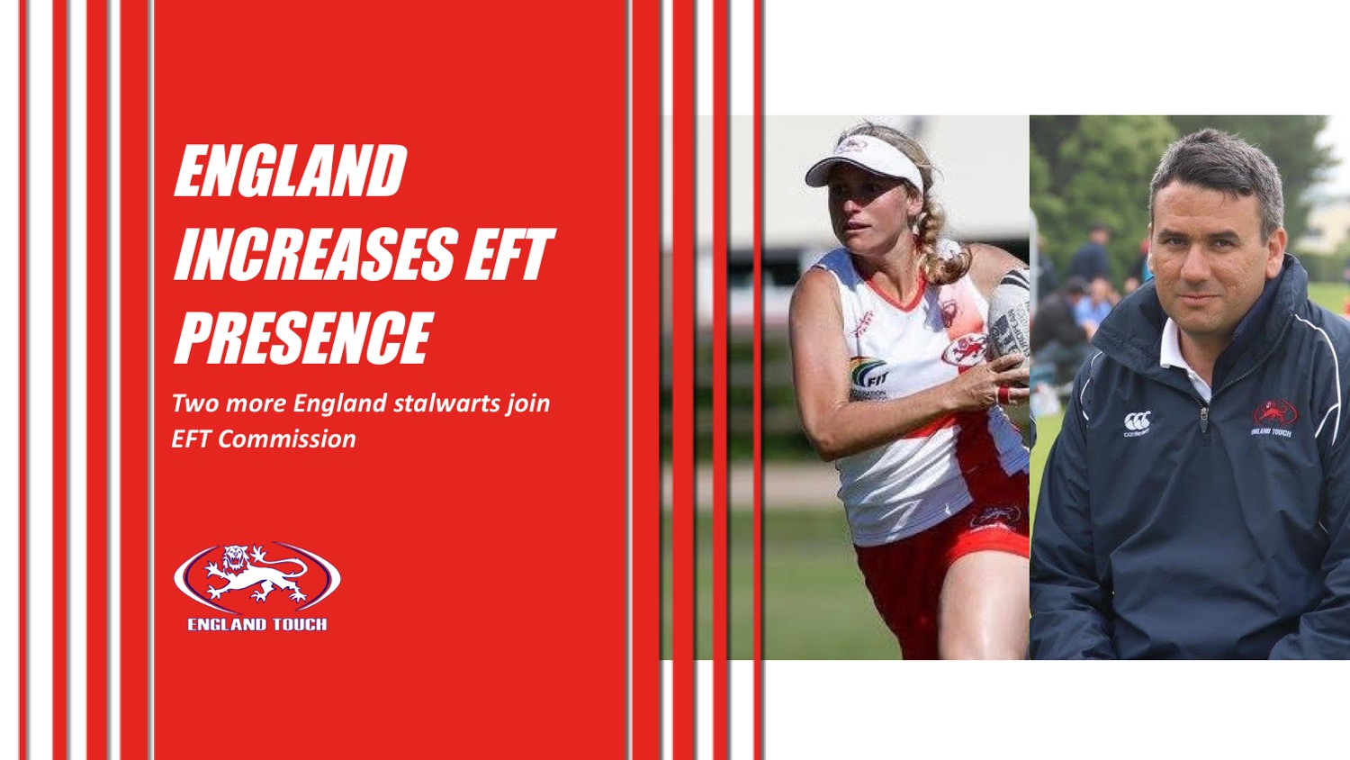 England increases representation on European Federation of Touch Commission
