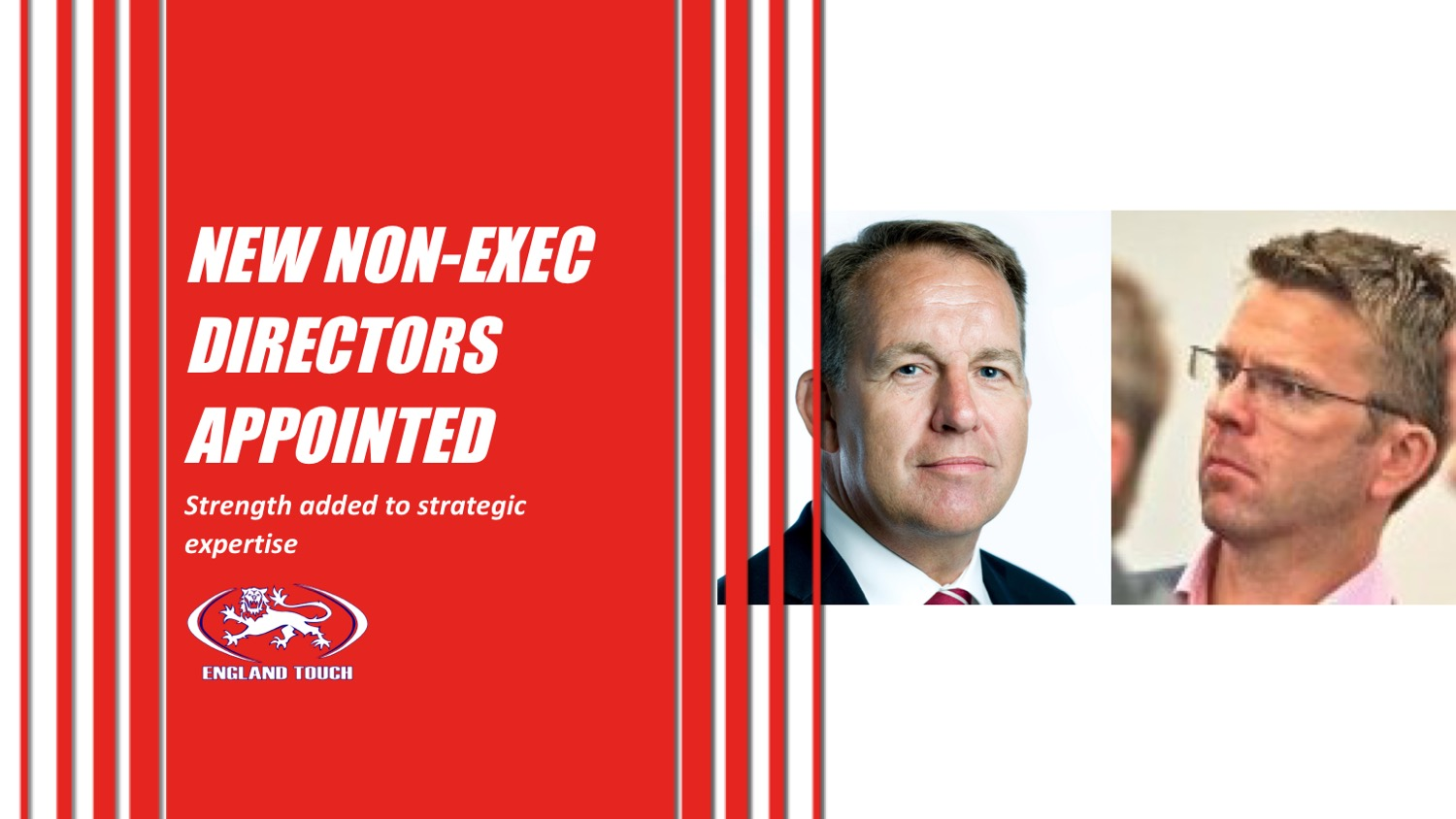 England Touch adds more experience to Board of Directors
