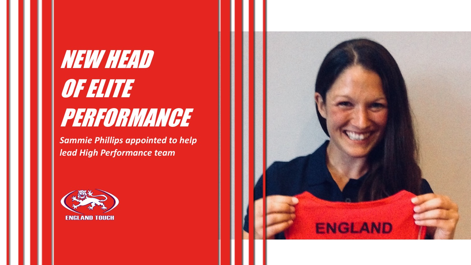 Sammie Phillips appointed as Head of Elite Performance