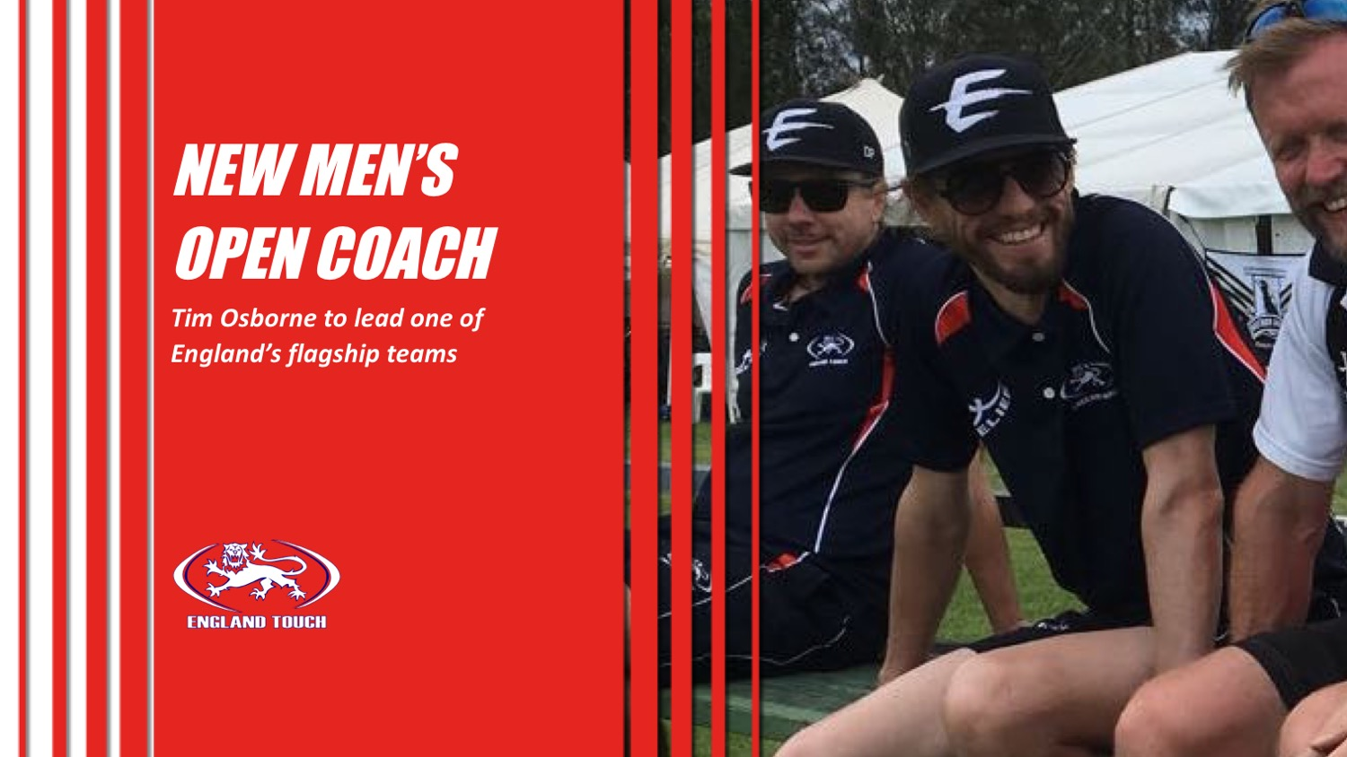 Tim Osborne appointed new Men's Open coach