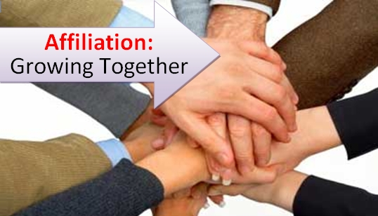 Affiliation : Growing your sport, together