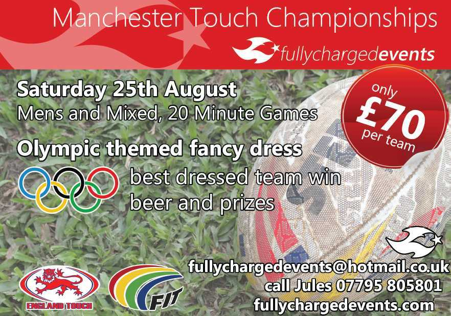 Touch competition - Manchester