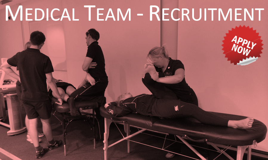 England Medical Team - Recruitment