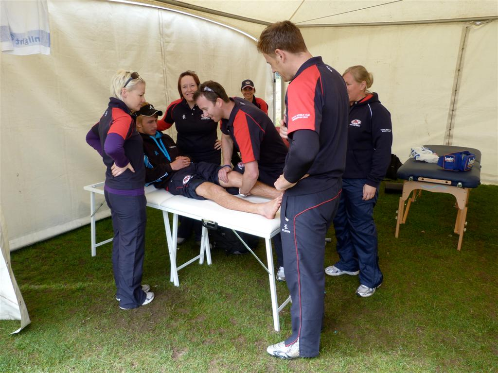 The TWC Physio Team