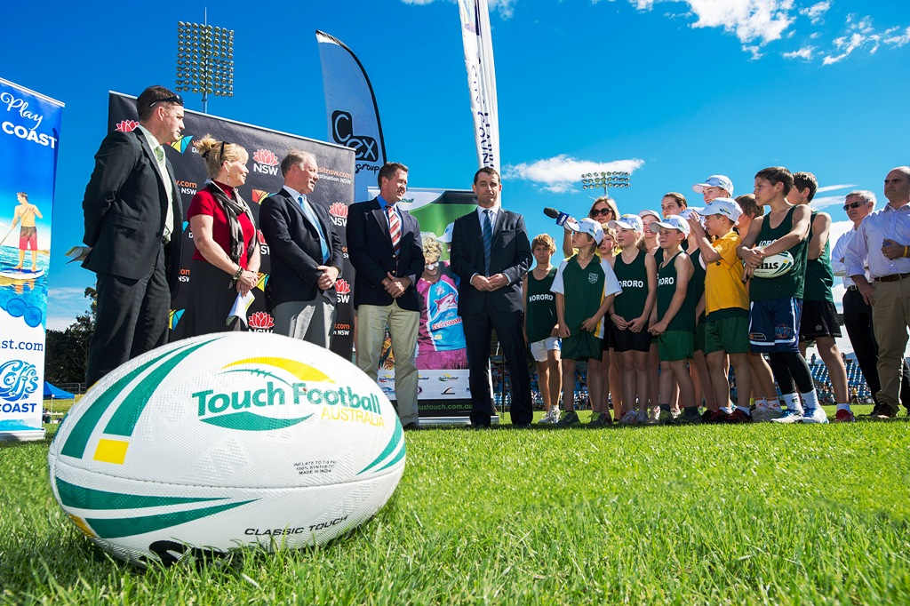 Coffs Harbour to host 2015 FIT Touch World Cup