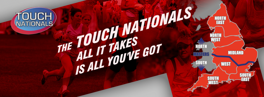 Touch Nationals - back with a vengeance from 13-14th of April