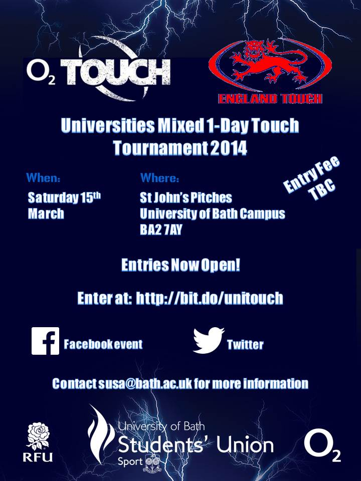University Touch Tournament
